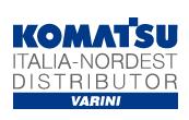 komatsu italia logo